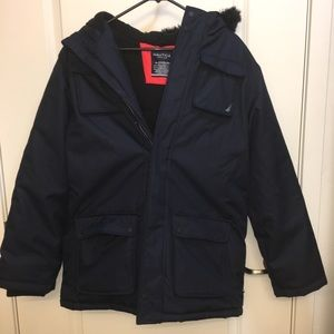 Nautica Navy Blue Winter Coat